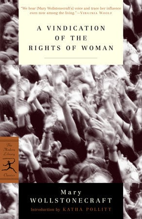 A Vindication of the Rights of Woman- feminist books