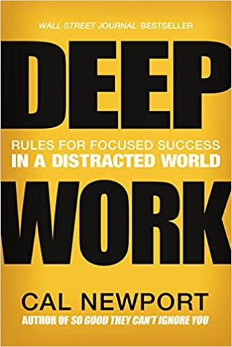 Deep Work; Must read business books