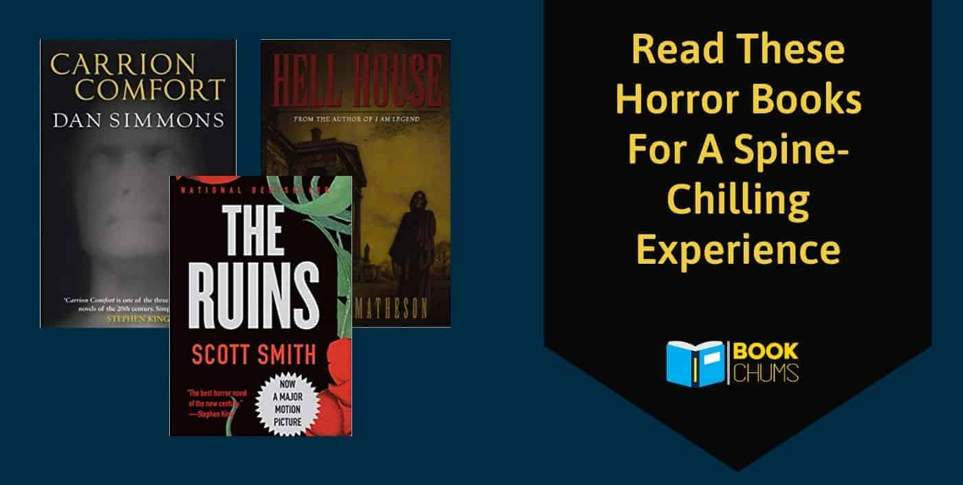 Read These Horror Books For A Spine-Chilling Experience