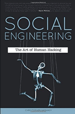 Social Engineering: The Art of Human Hacking by Cristopher J. Hadnagy