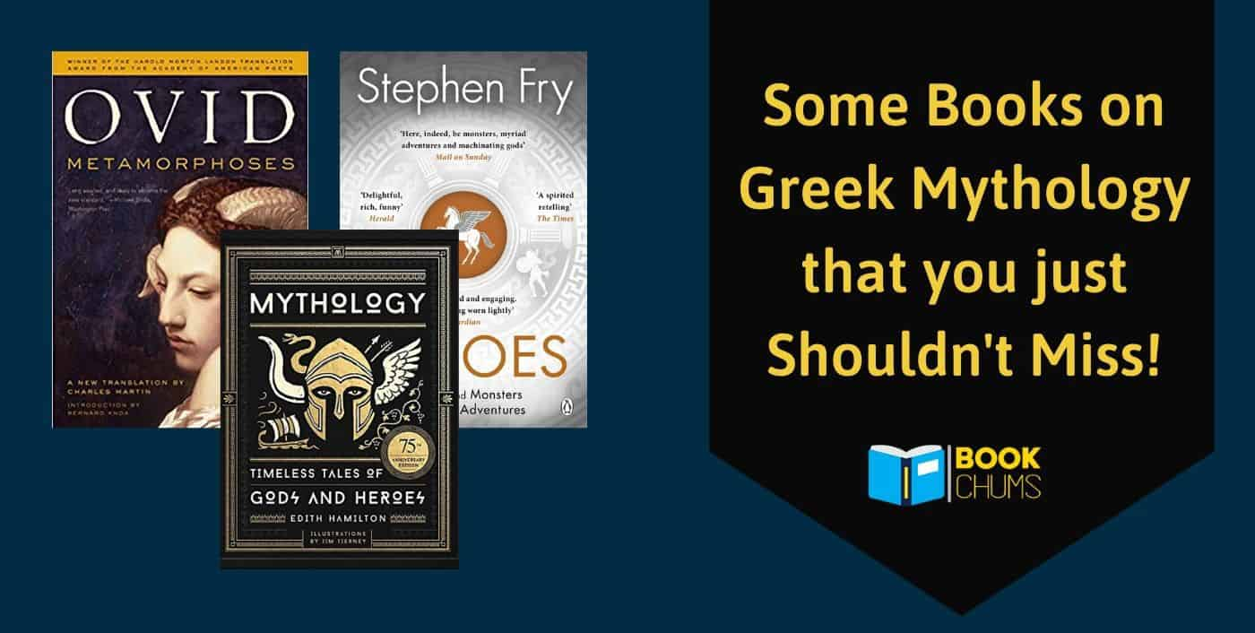 Some Books on Greek Mythology that you just Shouldn't Miss!